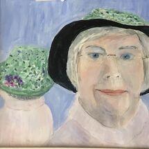 Self Portrait - must have Hat!