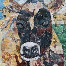 """Jersey Cow"" by Jan Callender"