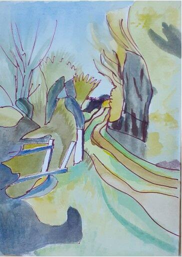 """Winding Track"" by Helen Rowbotham"