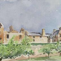 """""""Aberdour Castle"""" by Moira MacPherson"""