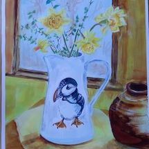 Daffodils and Puffin!