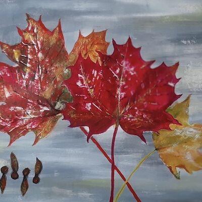 """Beautiful Bright Autumn Colours"" by Andrea Cochran"