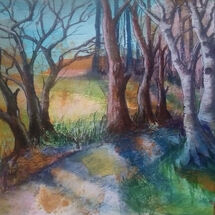 """""""A Walk in the Woods"""" by Joan Patterson"""