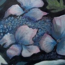 """""""Hydrangea"""" by Joan Patterson"""