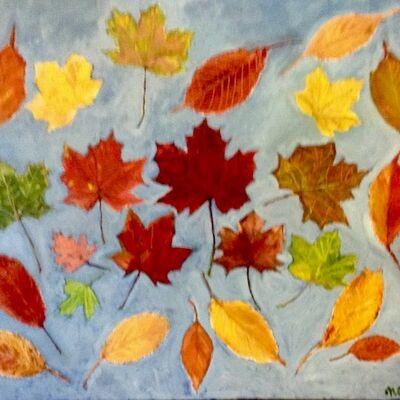 """Gathering in Autumn"" by Noriko Matsumoto"