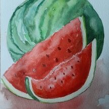 """""""A Couple of Juicy Slices"""" by Judith Jaggard"""