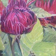 """Dahlia"" by Jan Callender"