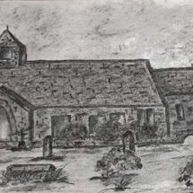 """St. Fillans, Aberdour"" by Gwynith Young"