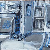 """Sunlit Sitting Room"" by Margaret Cummins"