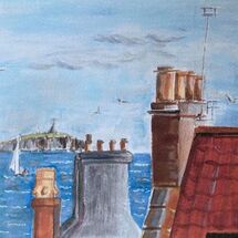 "'Chimneys"" by Maggie Brown"