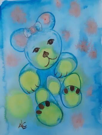 """""""Lulu Bear"""" by Andrea Cochran"""