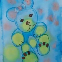 """Lulu Bear"" by Andrea Cochran"