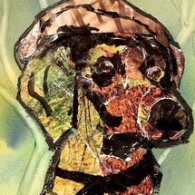 """""""Dog and Bunnet"""" by Moira MacPherson"""
