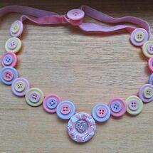 """""""Button Necklace"""""""