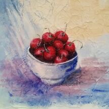 """Bowl of Cherries"" by Dorothy Turvey"