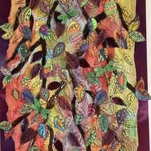 """'Autumnal Leaves"""" by Jean Boath"""