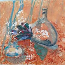"""Bottles"" by Helen Rowbotham"