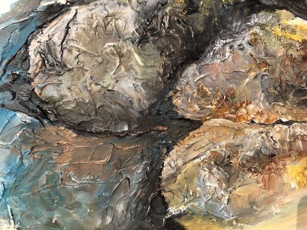 """""""Garden wall close up"""" by Barbara Wade"""
