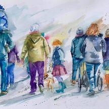 """""""Boxing Day Walk 2018"""" by Moira MacPherson"""