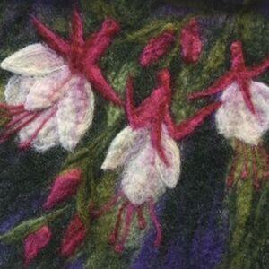 """Autumn Fushia"" by Jill Brown"