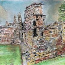 "'Aberdour Castle"" by Jan Callender"
