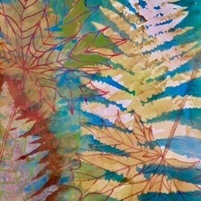"""""""Autumn Ferns"""" by Margaret Cummins"""