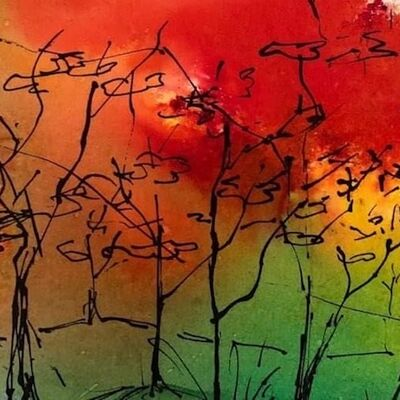 """""""Autumnal Doodle"""" by Moira MacPherson"""