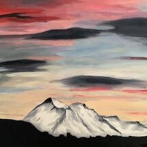 """The Peaks"" by Gwynith Young"