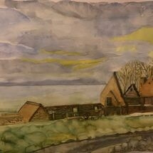 """St Bridget's Kirk, Dalgety Bay"" by Jan Callender"
