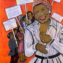 """Still I Rise"", inspired by Maya Angelou"