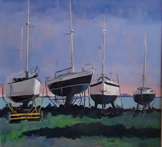 Boats at The Bay