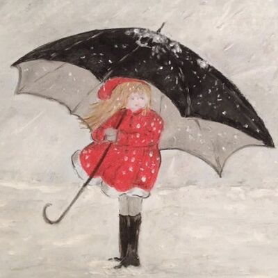 """""""Snow Brolly"""" by Gwynith Young"""