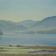Winter's Morning, Derwent Water