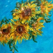 "'Sunflowers"" by Maggie Brown"