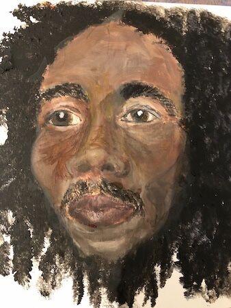 """""""Absolutely NOT Bob Marley' by Barbara Wade"""