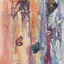 """A-flutter"" by Marjorie Rae"