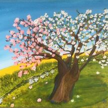 """Blossoming in Fife"" by Gabi Piche-Paterson"