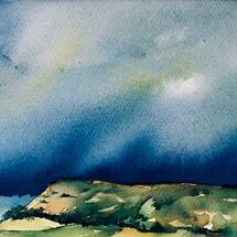 """""""Stormy sky over Benarty"""" by Moira MacPherson"""