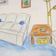 """My Blue Room"" by Liz Barclay"