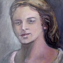 Portrait painted by Dorothy Turvey