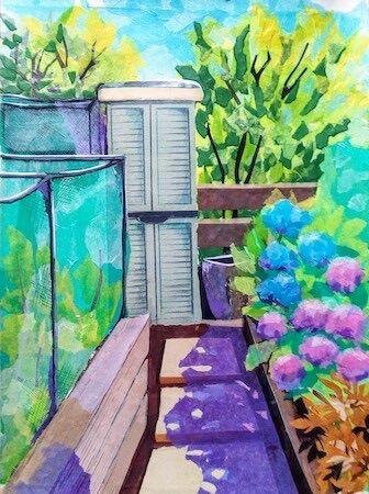"""""""Helen's Garden"""" by Joan Patterson"""