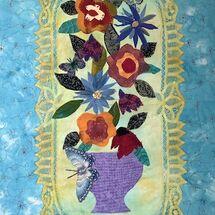 """""""Folk Art Vase"""" by Jean Boath"""