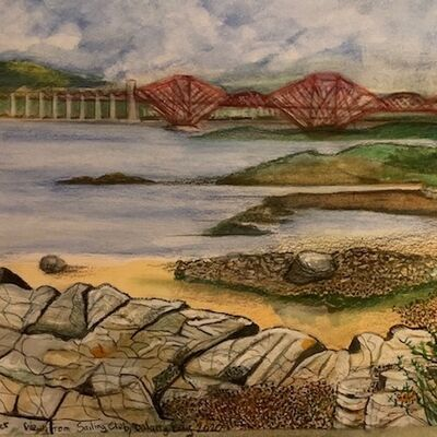 """View from Dalgety Bay Sailing club"""