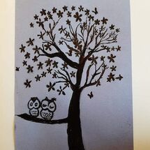 Greeting card designed by Liz Barclay