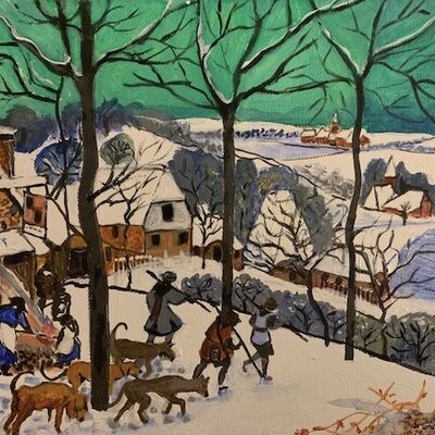 Painting by Jan Callender