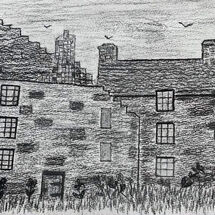 """Aberdour Castle"" by Hazel Campbell"
