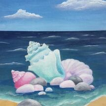 "Shells and Pebbles"" by Jill Brown"