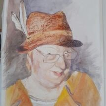 Self Portrait - must have hat!!