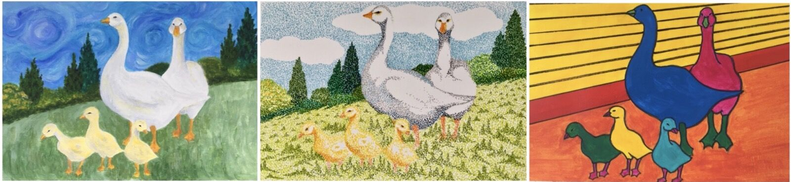 """""""The Goose Family"""" by Jill Brown"""