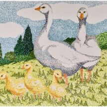 """The Goose Family"" by Jill Brown"